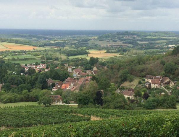 Les Filles Tresy-Passenas uitzicht