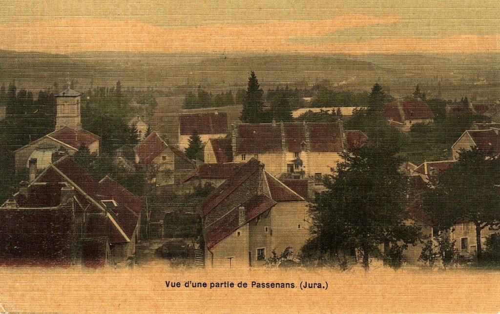 Oude postkaart Passenans