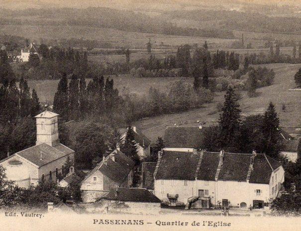 """Passenans Quartier de l""""Eglise"""