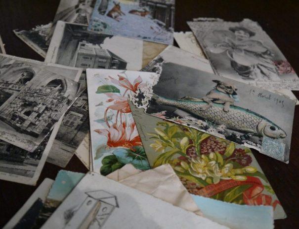 Postkaarten Famille Mottet